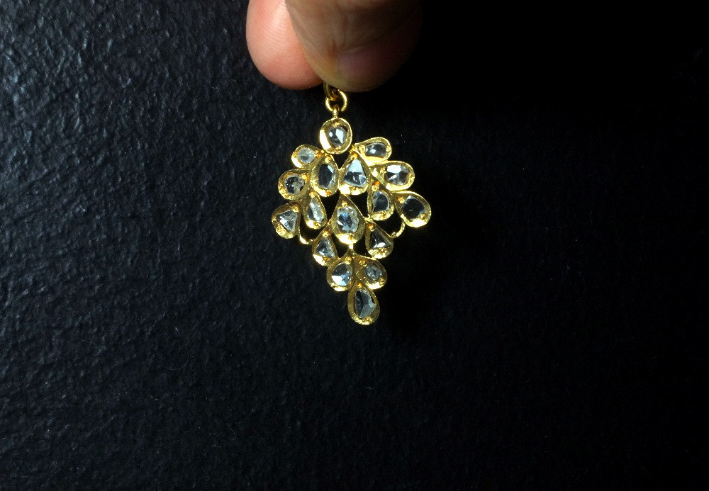 antique diamond pendants for sale