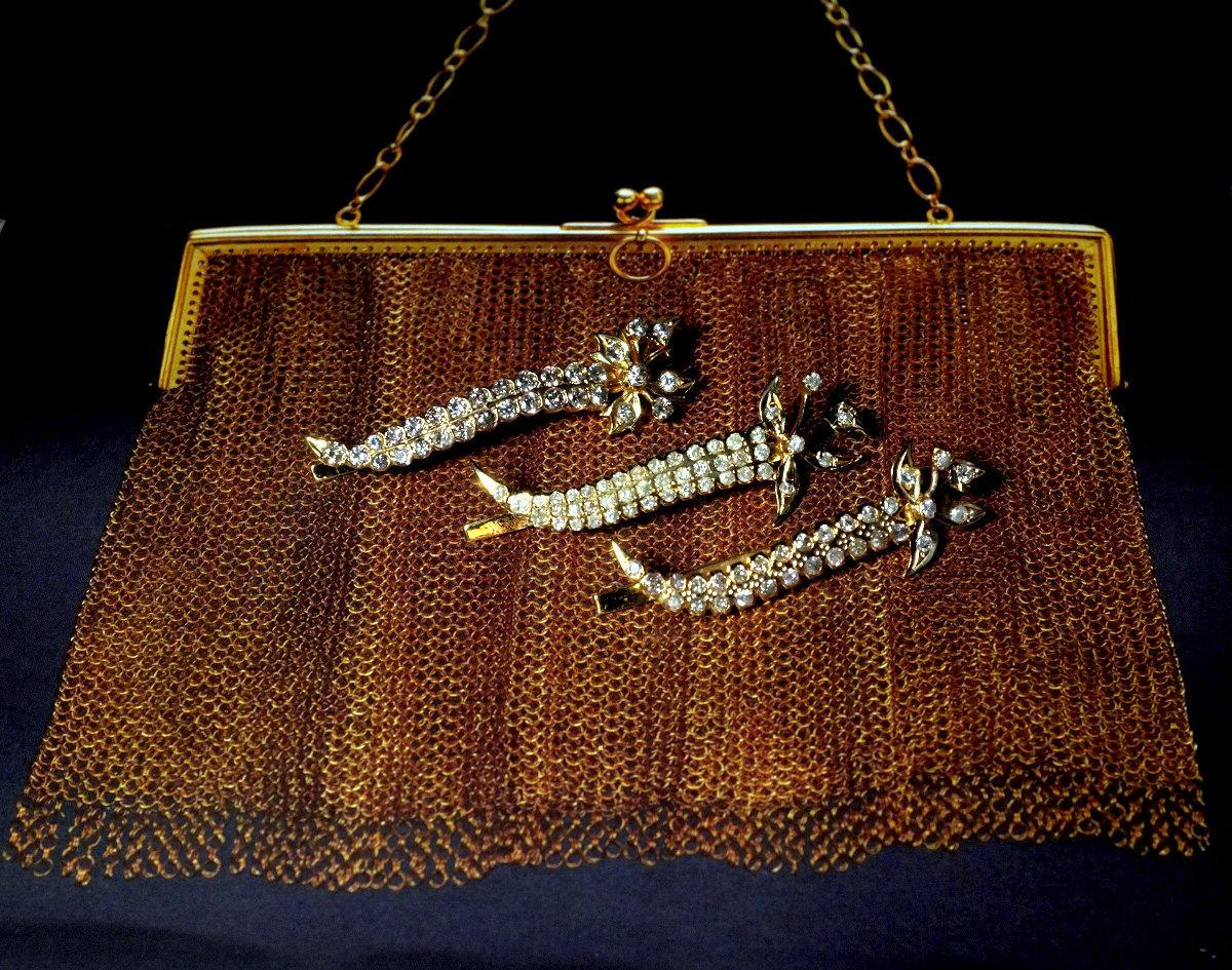 Vintage diamond clip dark and darker 2