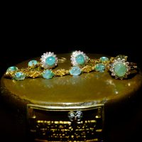 multi gemstone gold bracelet