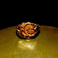 antique 24k gold ring